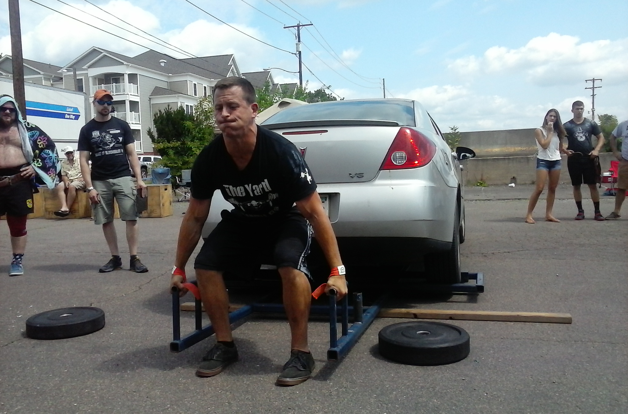 Kyle Monaghan - Car Deadlift